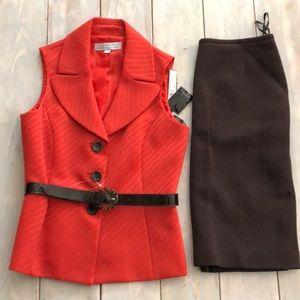 NWT Tahiri Skirt Suit